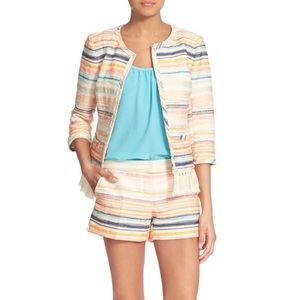 Trina Turk 'Nani' Striped Woven Jacket